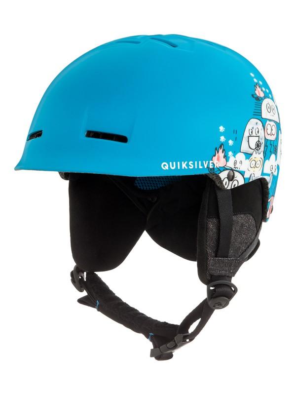 0 Empire - Casco da sci/snowboard da Ragazzo 8-16 Blue EQBTL03009 Quiksilver