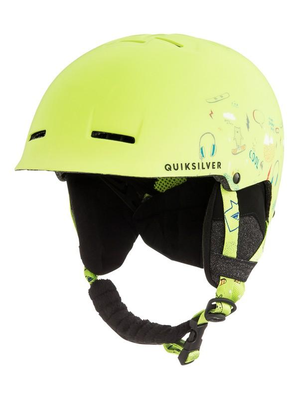0 Empire - Snowboard/Ski Helmet for Boys 8-16 Green EQBTL03009 Quiksilver