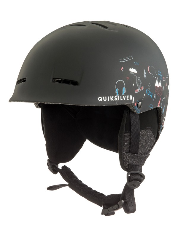 0 Empire - Snowboard/Ski Helmet for Boys 8-16 Black EQBTL03009 Quiksilver