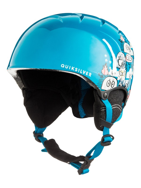 0 The Game - Snowboard/Ski Helmet for Boys 8-16 Blue EQBTL03011 Quiksilver