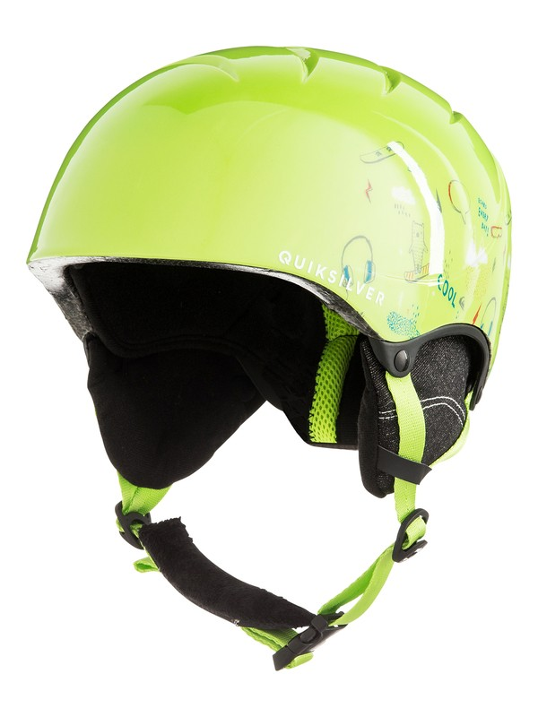 0 The Game - Snowboard/Ski Helmet for Boys 8-16 Green EQBTL03011 Quiksilver