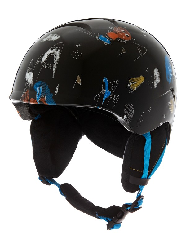 0 Slush Snowboard/Ski Helmet Black EQBTL03014 Quiksilver