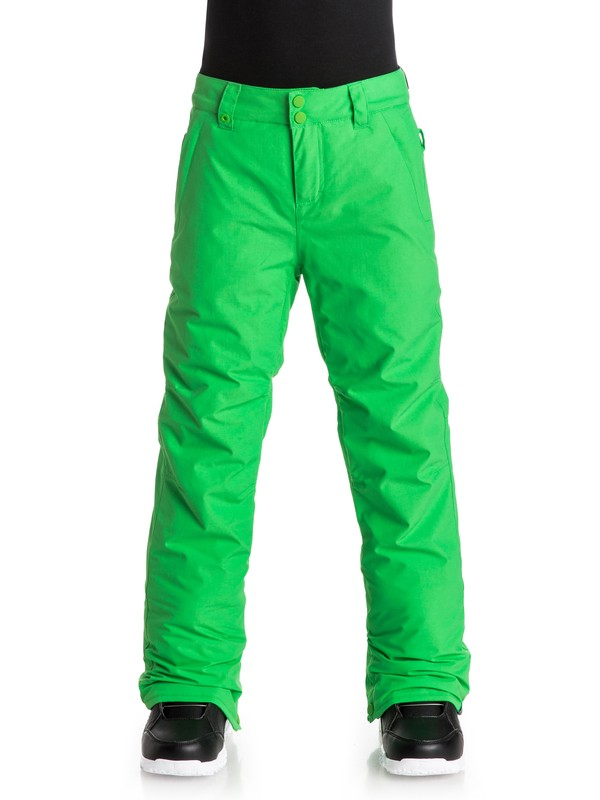 0 Estate - Snow Pants Green EQBTP03009 Quiksilver