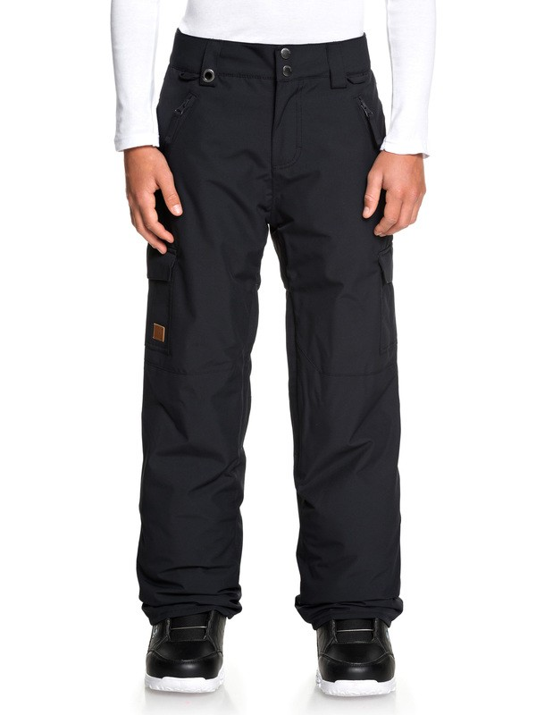 0 Boy's 8-16 Porter Snow Pants Black EQBTP03024 Quiksilver