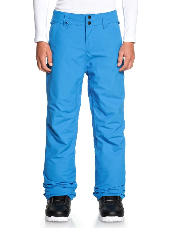 0 Boy's 8-16 Estate Snow Pants Blue EQBTP03026 Quiksilver