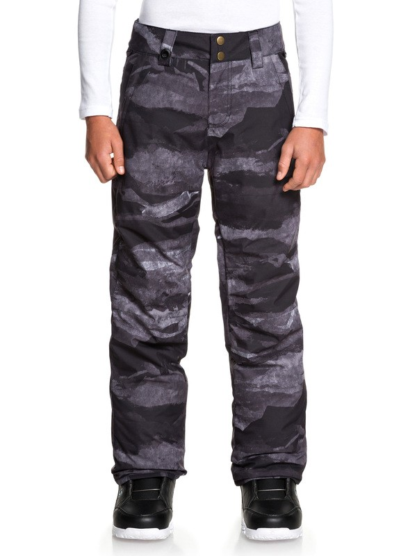 0 Estate Snow Pants Black EQBTP03026 Quiksilver