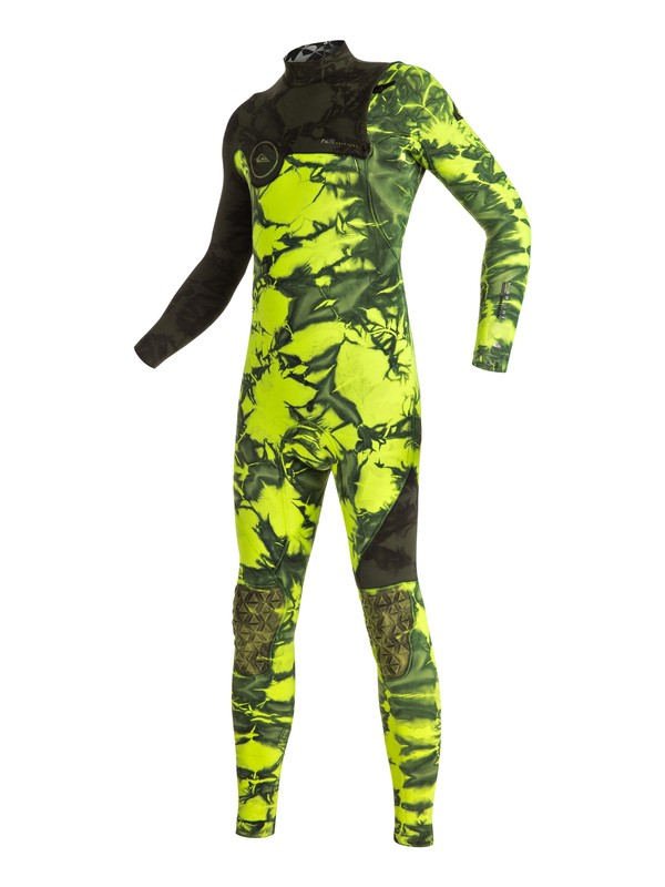 0 Highline Zipperless 3/2mm - Traje De Surf Integral Sin Cremallera Verde EQBW103005 Quiksilver