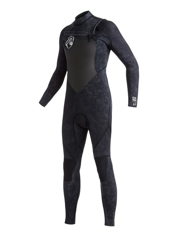 0 High Dye 3/2mm - Chest Zip Full Wetsuit Black EQBW103006 Quiksilver