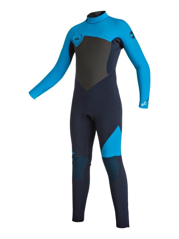 0 Syncro 3/2mm - Back Zip Full Wetsuit  EQBW103013 Quiksilver