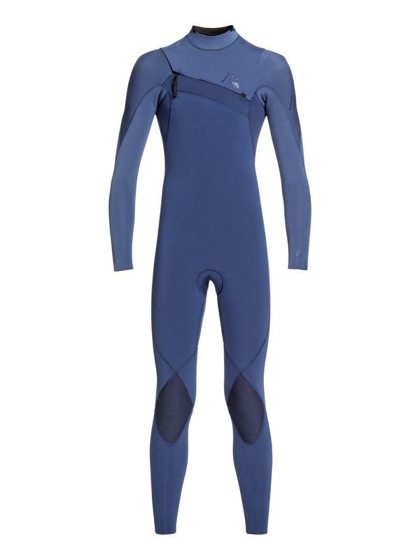 0 3/2mm Highline Limited - Chest Zip Wetsuit Blue EQBW103046 Quiksilver