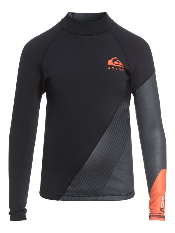 0 1mm Syncro New Wave - Top De Neopreno De Manga Larga para Chicos 8-16 Naranja EQBW803001 Quiksilver