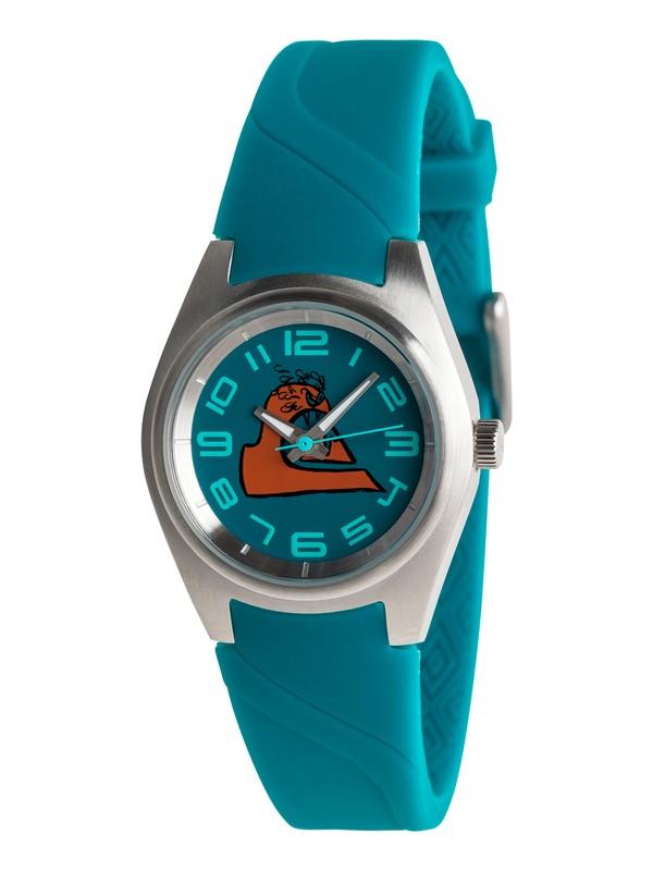 0 Kickstart - Analogue Watch for Boys 8-16 Blue EQBWA03000 Quiksilver