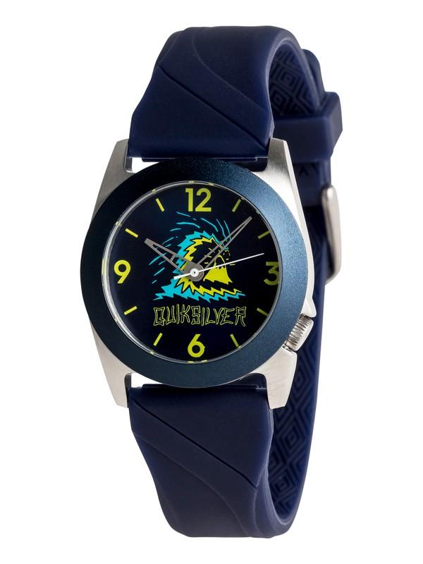 0 Fiction - Analoge Uhr für Jungen 8-16 Blau EQBWA03001 Quiksilver