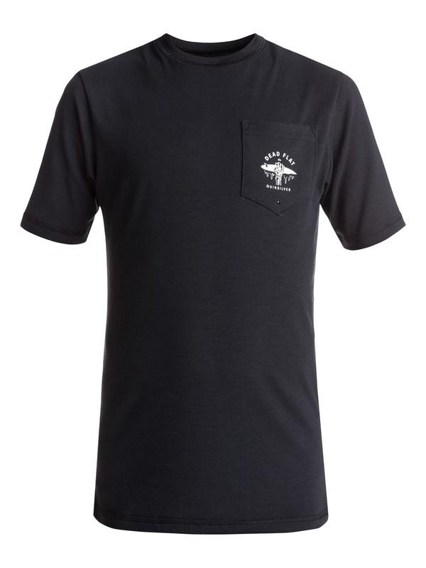 0 Bubble Amphibian - Short Sleeve Rash Vest for Boys 8-16 Black EQBWR03043 Quiksilver
