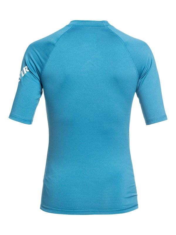All Time - Short Sleeve UPF 50 Rash Vest for Boys 8-16  EQBWR03074