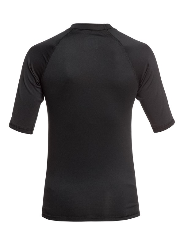 Sun Protection Quiksilver Kona Short Sleeve Boy Rashguard UPF 50