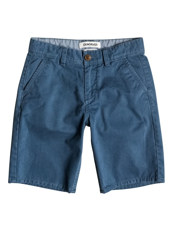 0 Everyday Chino - Short Bleu EQBWS03075 Quiksilver