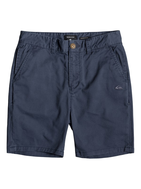 0 Krandy - Chino Shorts for Boys 8-16 Blue EQBWS03221 Quiksilver