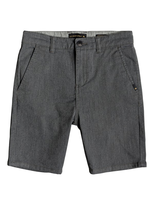 0 Boy's 8-16 New Everyday Union Chino Shorts Black EQBWS03223 Quiksilver