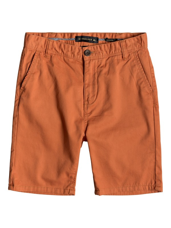 0 Everyday - Chino Shorts for Boys 8-16 Orange EQBWS03225 Quiksilver