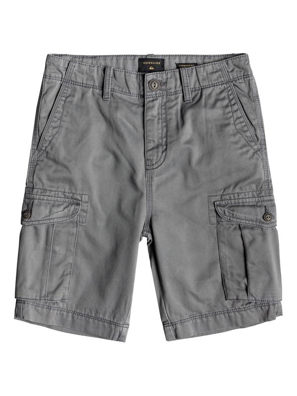 0 Crucial Battle - Cargo Shorts for Boys 8-16 Black EQBWS03226 Quiksilver