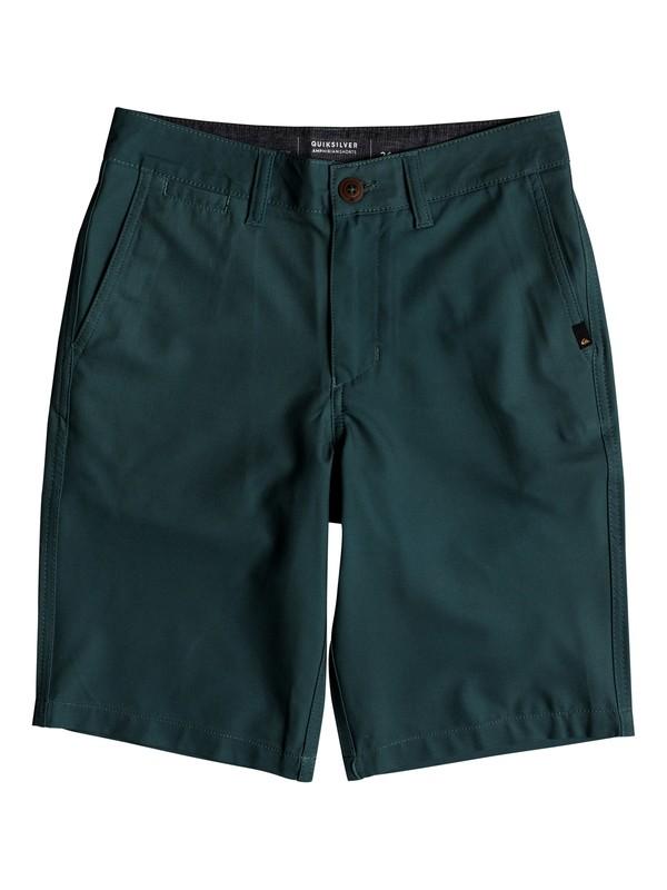 "0 Boy's 8-16 Union 19"" Amphibian Shorts  EQBWS03269 Quiksilver"