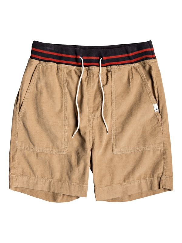 0 No Surprise - Short Elástico para Chicos 8-16 Marron EQBWS03271 Quiksilver