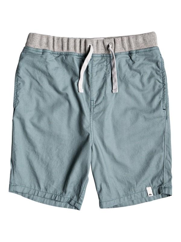 0 Boy's 8-16 Seaside Coda Shorts Blue EQBWS03272 Quiksilver