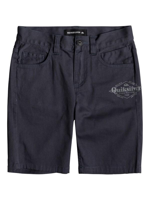 0 Mel Is Born - Shorts for Boys 8-16 Blue EQBWS03275 Quiksilver