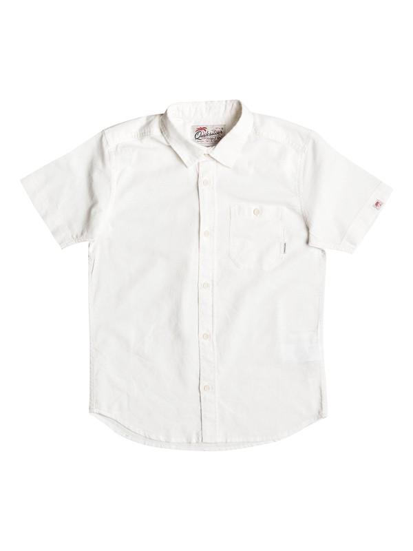 0 Time Box - Camicia a maniche corte White EQBWT03157 Quiksilver