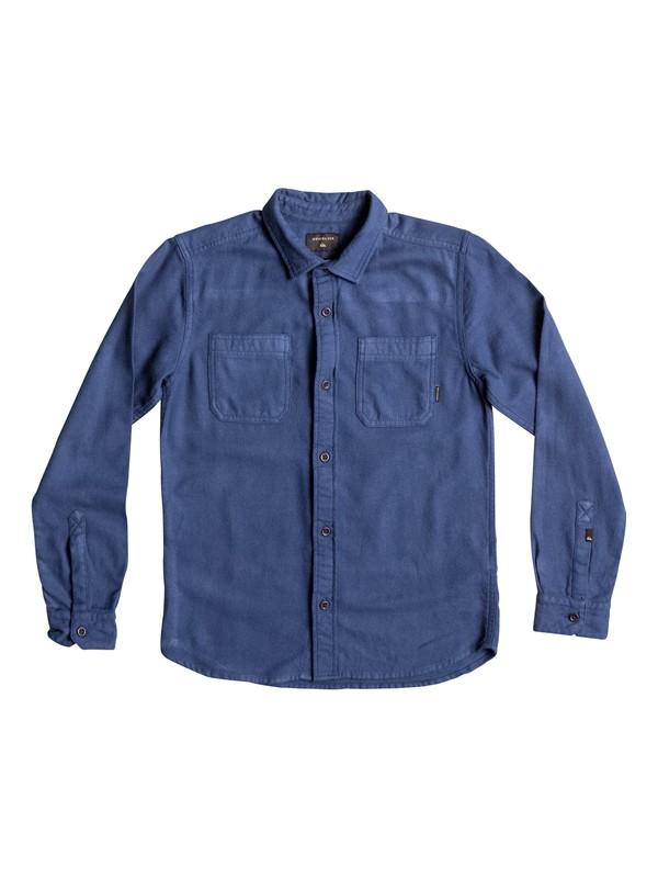 0 Bomie - Long Sleeve Shirt for Boys 8-16 Blue EQBWT03179 Quiksilver