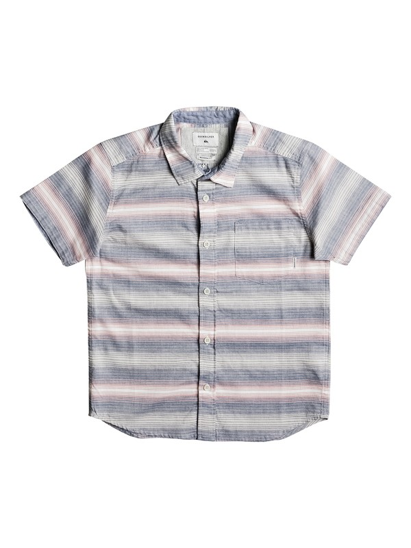 0 Boy's 8-16 Aventail Short Sleeve Shirt Pink EQBWT03185 Quiksilver