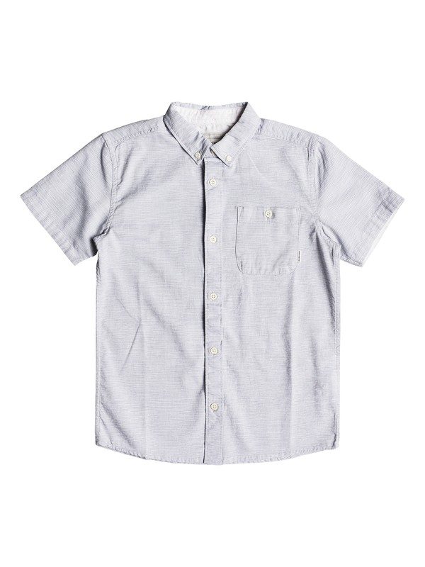 0 Boy's 8-16 Waterfalls Short Sleeve Shirt  EQBWT03201 Quiksilver