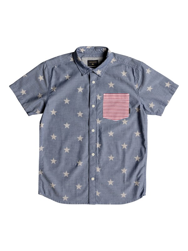 0 Boy's 8-16 4th Short Sleeve Shirt  EQBWT03215 Quiksilver