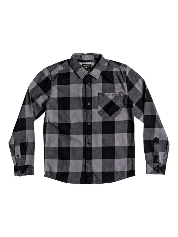 0 Motherfly Flannel - Camisa de manga larga para Chicos 8-16 Negro EQBWT03227 Quiksilver