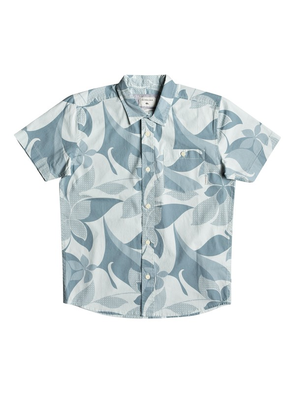 0 Boy's 8-16 Bathursts Bats Short Sleeve Shirt  EQBWT03244 Quiksilver