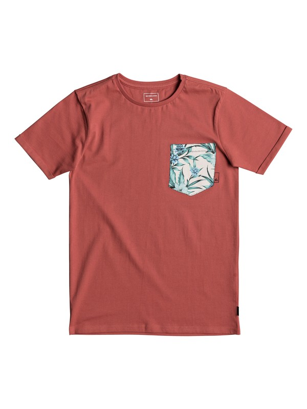 0 Classic Quadro Glide - T-Shirt for Boys 8-16 Pink EQBZT03667 Quiksilver