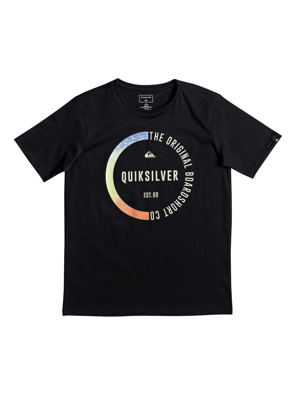0 Classic Revenge - T-Shirt for Boys 8-16 Black EQBZT03670 Quiksilver