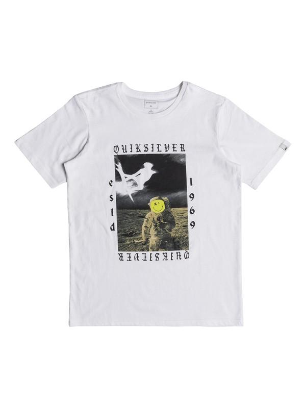 0 Classic Kelalani Nalu - T-Shirt for Boys 8-16 White EQBZT03678 Quiksilver