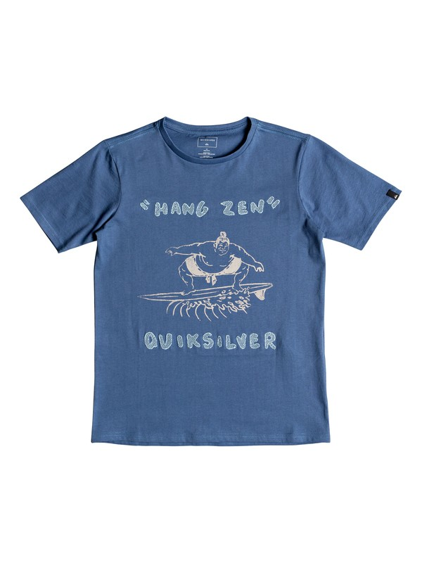 0 Футболка Hang Zen Синий EQBZT03768 Quiksilver