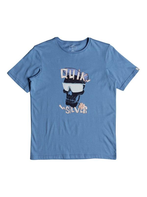 0 You See Me - Camiseta para Chicos 8-16 Azul EQBZT03770 Quiksilver