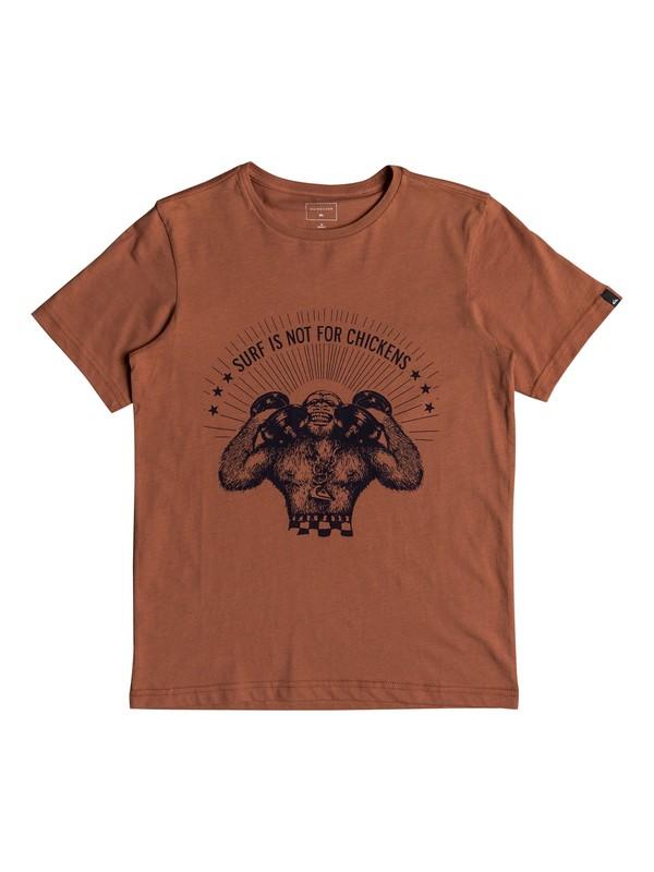 0 Chickens - Camiseta para Chicos 8-16 Rosa EQBZT03772 Quiksilver