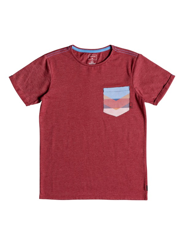 0 Stay - T-Shirt voor Jongens 8-16 Red EQBZT03776 Quiksilver