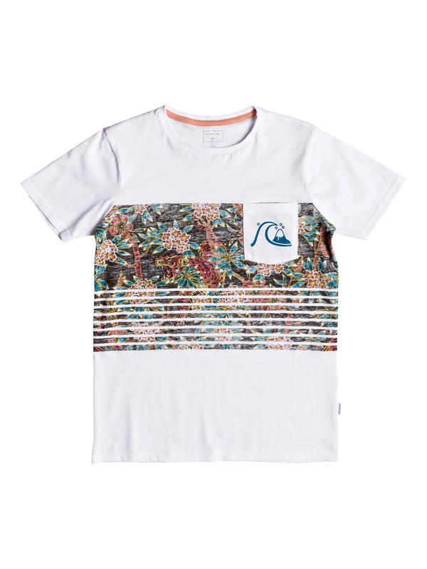 0 Silent Furry - Pocket T-Shirt for Boys 8-16  EQBZT03782 Quiksilver