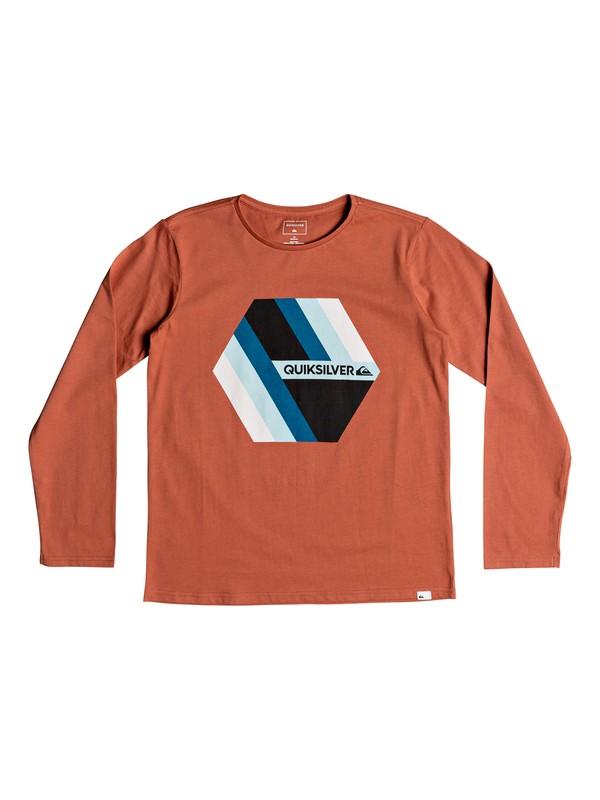0 Retro Right - T-shirt à manches longues pour Garçon 8-16 ans Rose EQBZT03804 Quiksilver