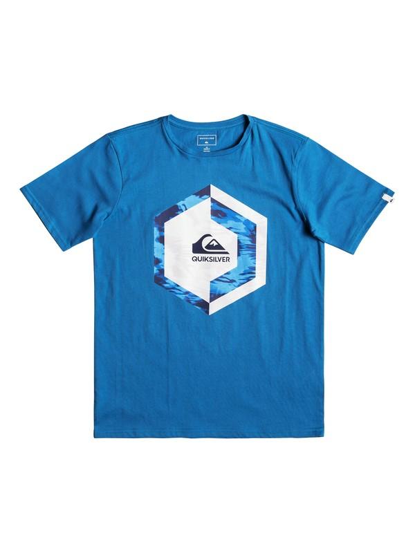 0 Детская футболка Heat Stroke Синий EQBZT03894 Quiksilver