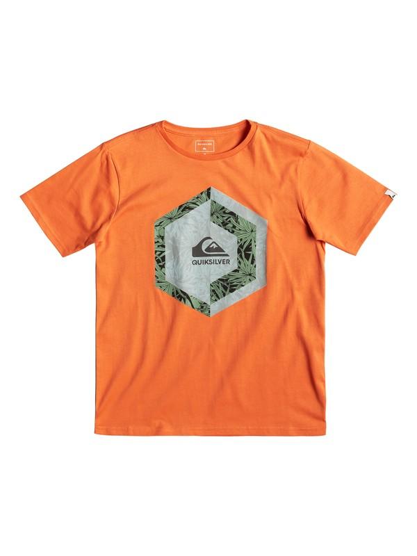 0 Детская футболка Heat Stroke Оранжевый EQBZT03894 Quiksilver