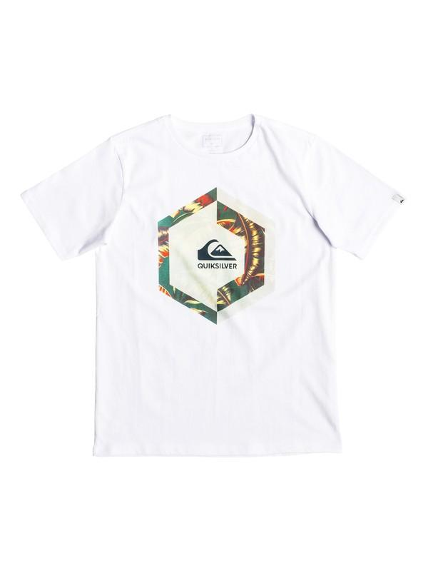 0 Heat Stroke - T-shirt pour garçon 8-16 ans Blanc EQBZT03894 Quiksilver