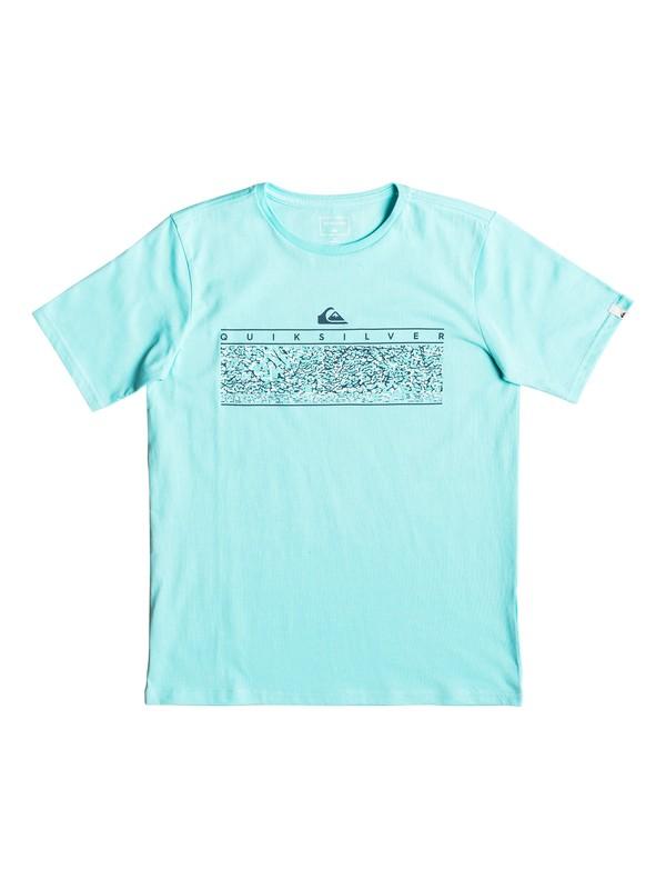 0 The Jungle - T-shirt pour garçon 8-16 ans Bleu EQBZT03896 Quiksilver