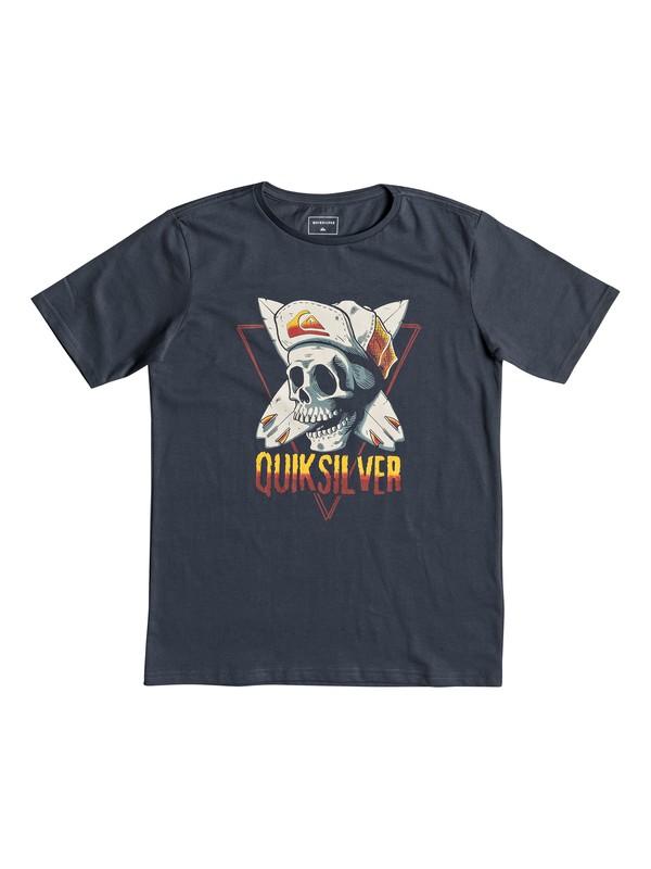 0 Soul Arch - T-shirt pour garçon 8-16 ans Bleu EQBZT03898 Quiksilver